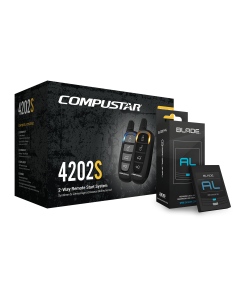 Compustar LT Series+BLADE-AL - Remote Start Kit 3000' Range